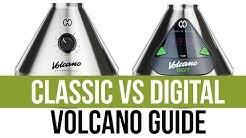 Volcano Classic vs Digit Vaporizer Comparison