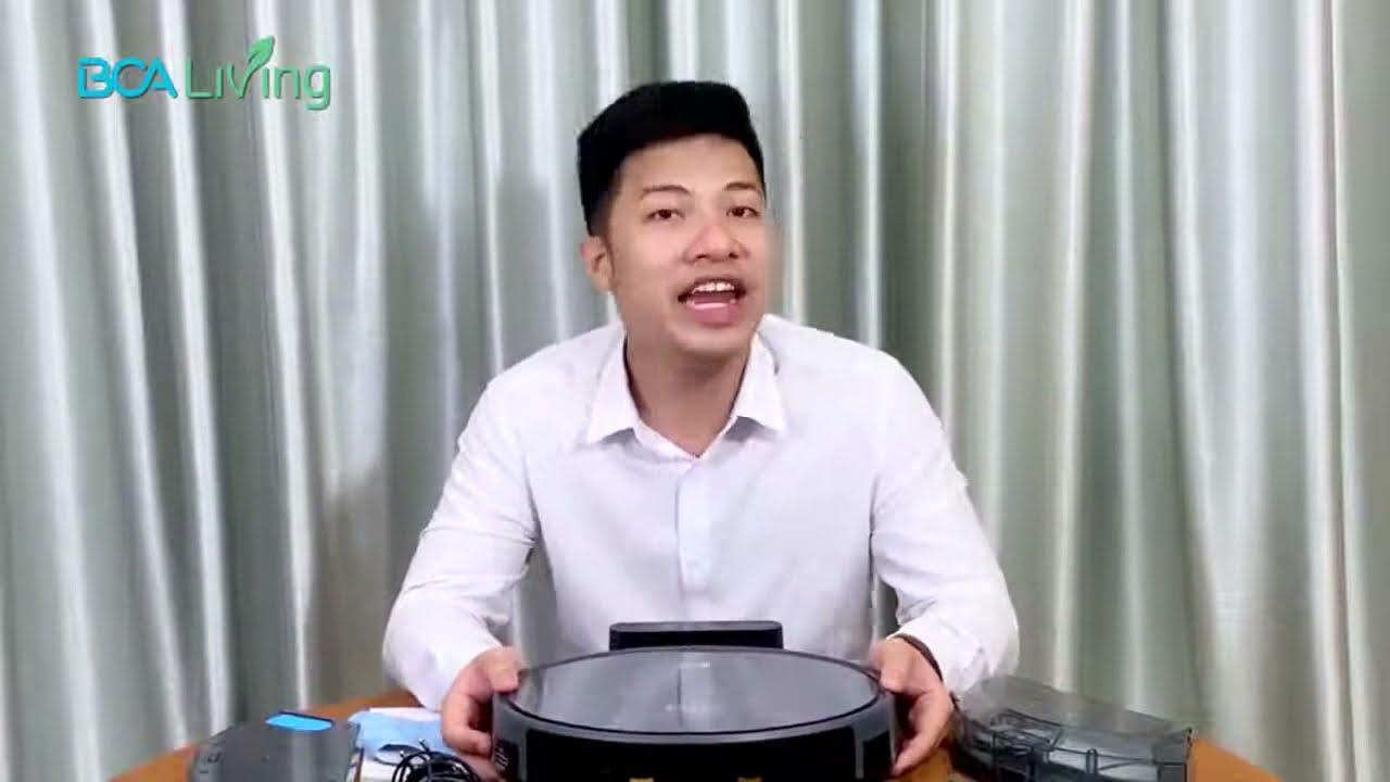Trải nghiệm & Đánh giá Robot lau nhà hút bụi KUR6612 - YouTube