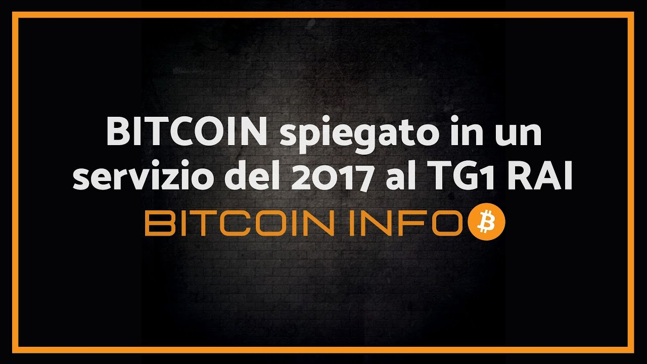 bitcoin spiegato