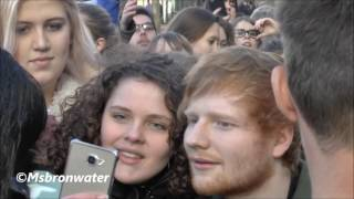 Ed Sheeran Fans  @ Rembrandtplein Amsterdam The Netherlands