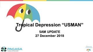 Press Briefing Tropical Depression
