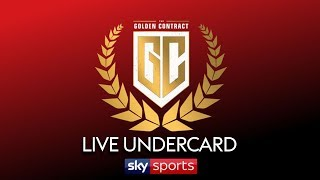 LIVE BOXING! Golden Contract Super-Lightweight Tournament | Undercard