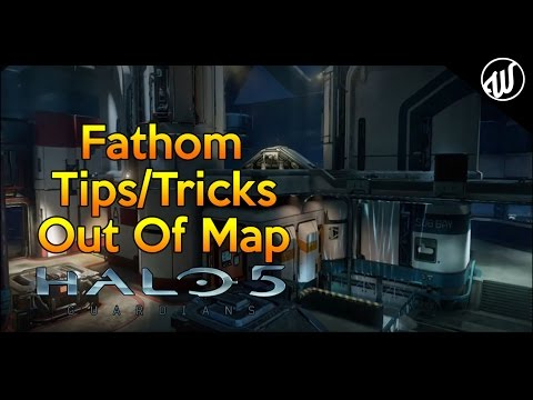 Halo 5 - Fathom: Tips/Tricks, Jumps, Weapon Launches and Out of the Map All In One