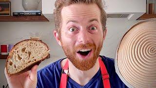 Ned Bakes Sourdough Bread For 14 Days