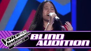 Video Angeline - Be The One | Blind Auditions | The Voice Kids Indonesia Season 3 GTV 2018 download MP3, 3GP, MP4, WEBM, AVI, FLV Agustus 2018