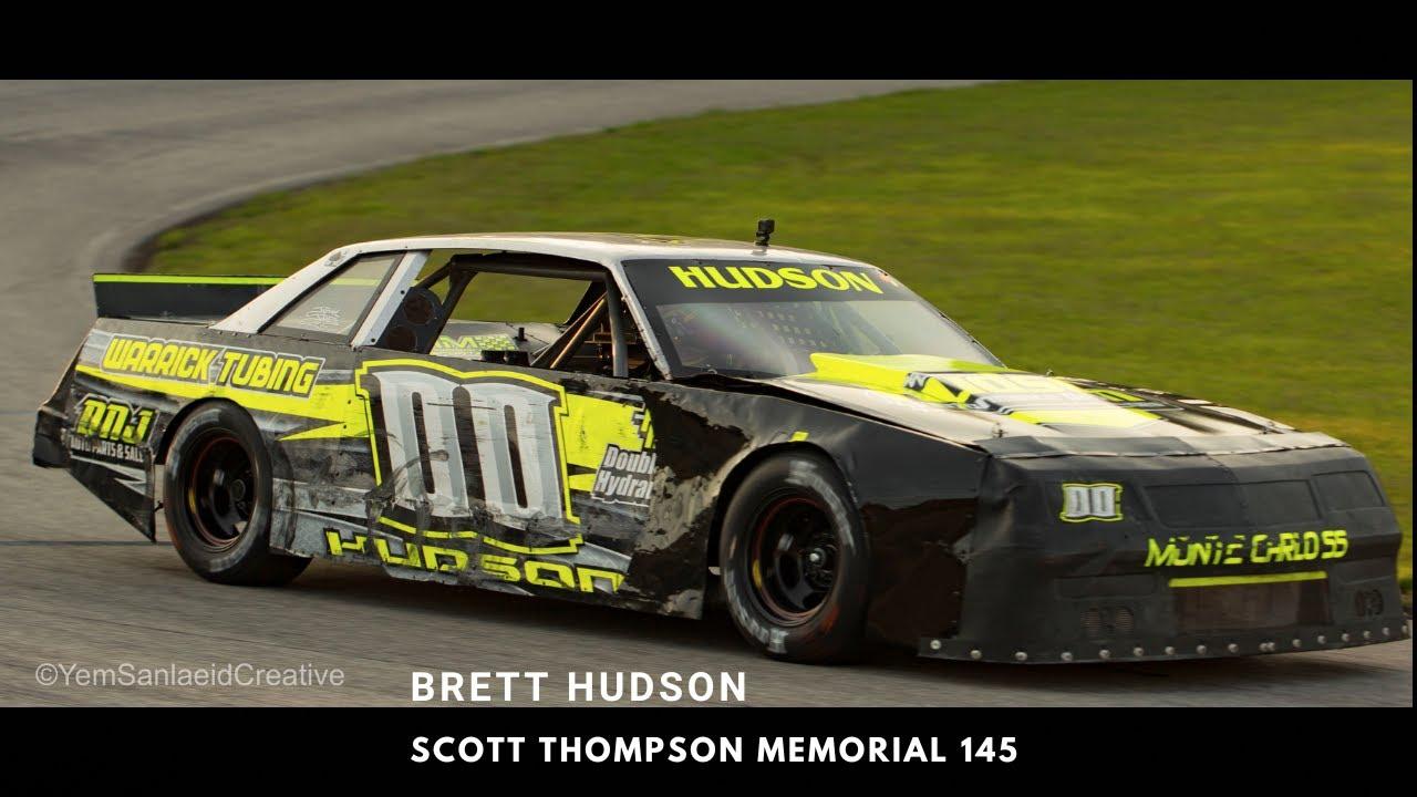 Scott Thompson Memorial 145 // Kentucky Motor Speedway // Brett Hudson On-Board (Part 1)