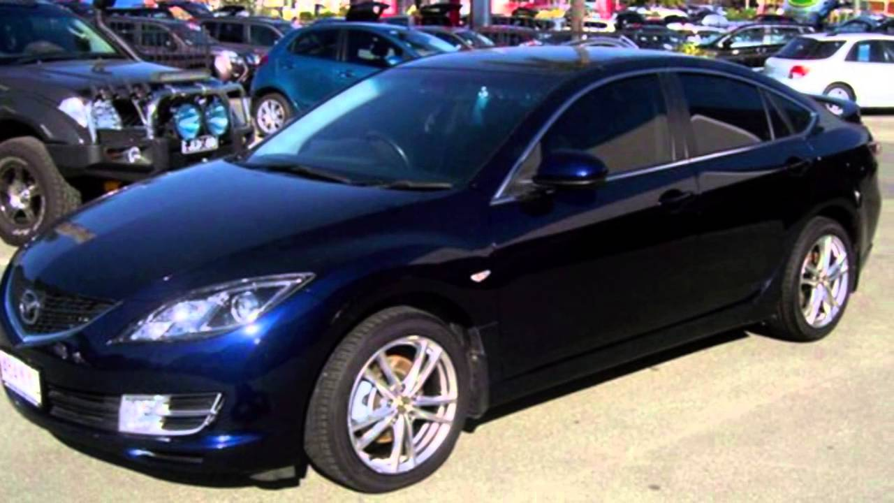 2008 mazda 6 mazda 6 blue automatic sedan youtube. Black Bedroom Furniture Sets. Home Design Ideas