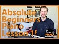 Absolute Beginners Piano Lesson Song 1 'Heart and Soul'