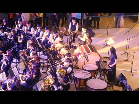A Christmas Canon - Tianjin International School high school Band