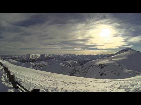 Mountains/Ocean, Welcome on Kiwi Ski Slopes, GoPro Full HD