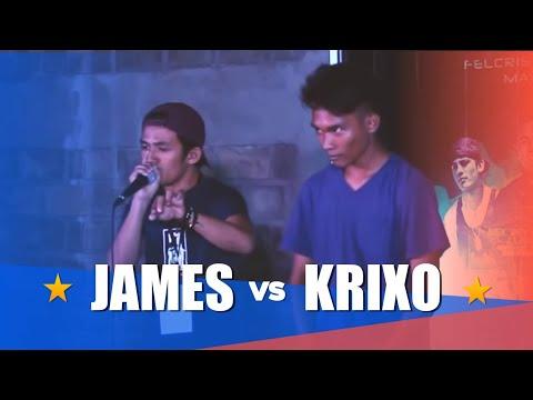 Philippine Beatbox Battle   JAMES vs KRIXO   Top 16