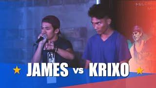 Philippine Beatbox Battle | JAMES vs KRIXO | Top 16