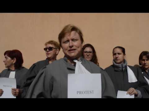 Protest Grefieri Resita