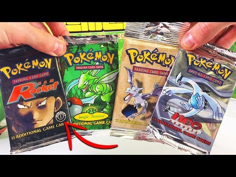 OPENING RARE VINTAGE POKEMON CARDS...