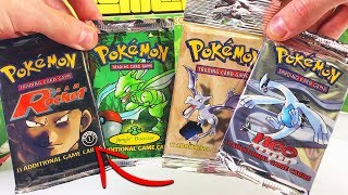 OPENING RARE VINTAGE POKEMON CARDS PACKS!!! (1st Edition?)