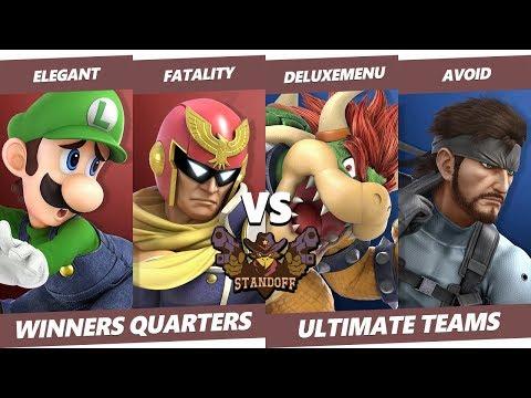 Standoff 2019 - Elegant & Fatality Vs. Deluxemenu & AvoiD Smash Ultimate Doubles Winners Quarters
