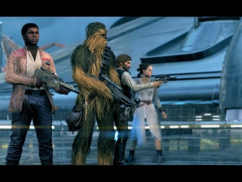 Star Wars Battlefront 2 Heroes Vs Villains 186 Finn Gameplay