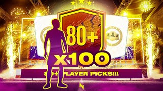 AMAZING HEADLINER! 100 x 80+ Player Pick Packs! - FIFA 21 Ultimate Team