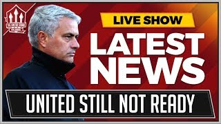 MOURINHO Admits MANCHESTER UNITED Aren't Title Ready! MAN UTD NEWS