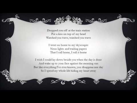 Adele - Hiding My Heart - Original Lyrics