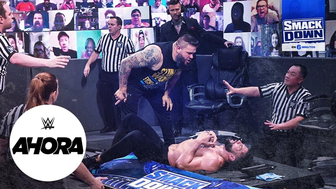 REVIVE SmackDown en 6 minutos: WWE Ahora, Ene 22, 2020