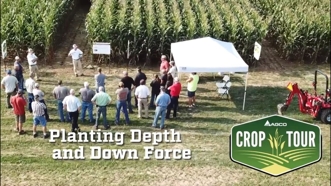 Planting Depth and Down Force - Insights from AGCO Crop Tour North America  2018