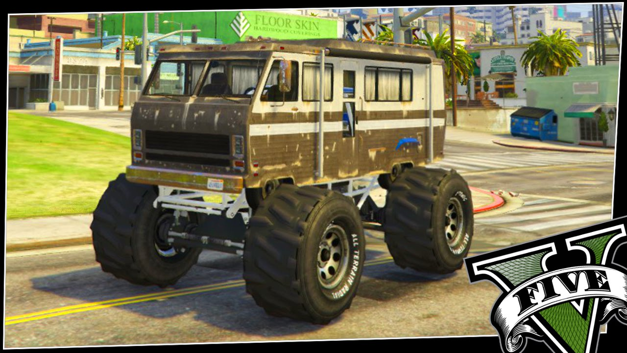 Monster Rv More Custom Gta 5 Cars Youtube
