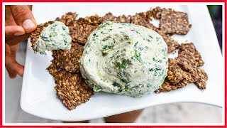 BEST Cream Cheese Recipe! Raw Vegan Healthy Holidays Dip!