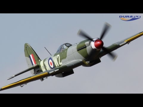 Product Video - Durafly Spitfire Mk 24, 1100mm (PNF)
