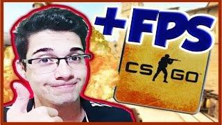 COMO AUMENTAR O FPS NO CS:GO E DESEMPENHO DO PC! 100% APROVADO!