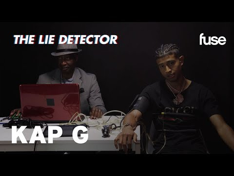 Kap G Takes A Lie Detector Test