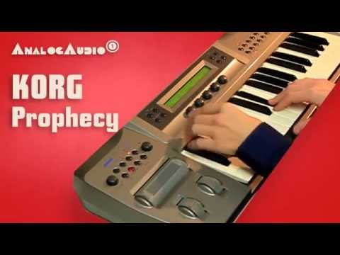 KORG PROPHECY Synthesizer 1995 | HD DEMO | NEW PATCHES