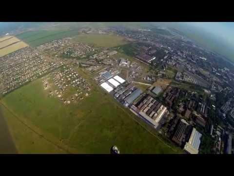 Первый прыжок с парашютом Д-1-5у 800м