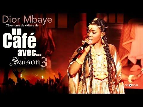 Cérémonie de Cloture de Un Café Avec...Saison3 Au Grand Théâtre de Dakar - Dior Mbaye - Demna