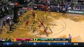 Men's Basketball: USC 61, Oregon 84 - Highlights 12/30/16