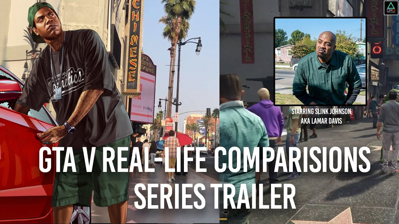 GTA V Real-Life Comparisons: Series Trailer