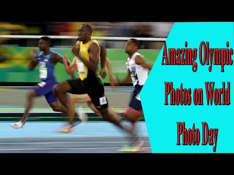 Amazing Olympic Photos on World Photo Day    News Share Channel