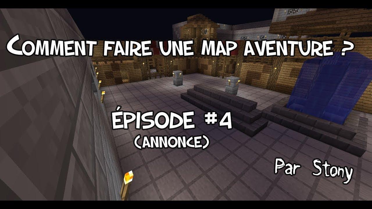 Minecraft tutoriel comment faire une map aventure part 4 annonce youtube - Comment faire une chambre moderne minecraft ...