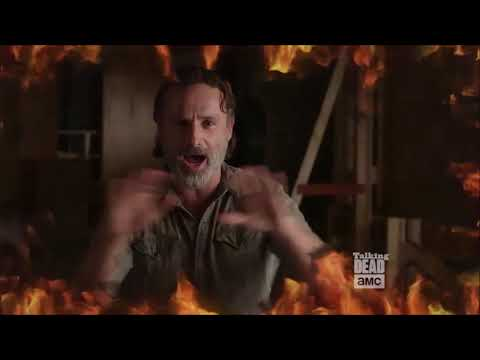Talking Dead  Andrew Lincoln DISCO BAT