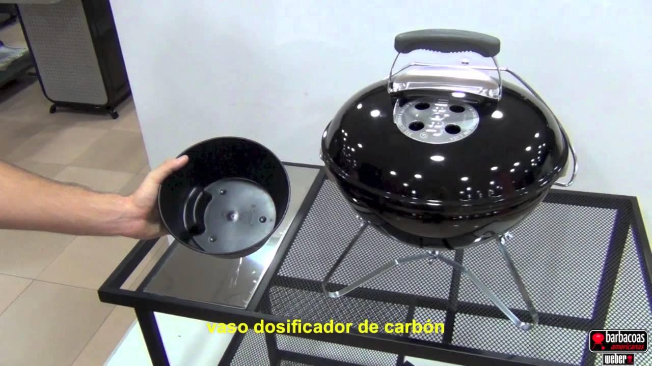 barbacoa weber smokey joe premium port til de carb n negra youtube. Black Bedroom Furniture Sets. Home Design Ideas