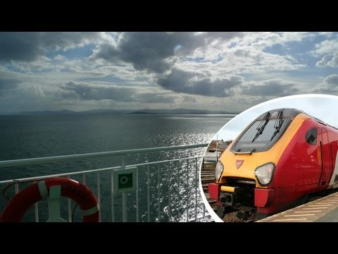 London to Dublin the civilised way, by train & ferry