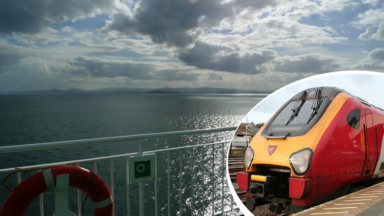london to dublin the civilised way by train ferry youtube