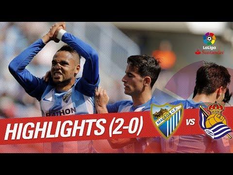 Highlights Málaga CF vs Real Sociedad (0-0)