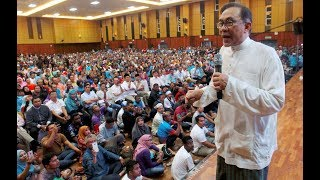 Anwar attributes his freedom to people's wisdom