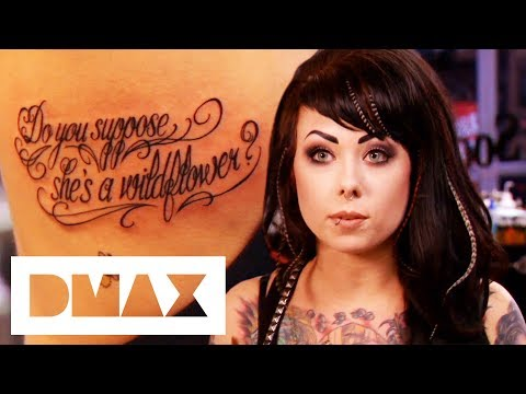Alice In Wonderland Tattoo Lands Megan Massacre In Magazine | Miami Ink