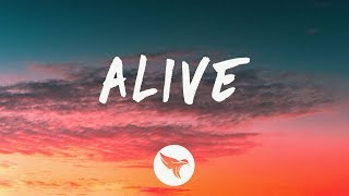 Dabin - Alive (Lyrics) feat. RUNN