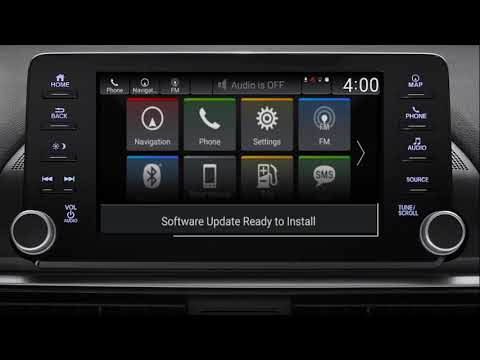 How to Update Display Audio Software Wirelessly on the 2018 Honda Accord