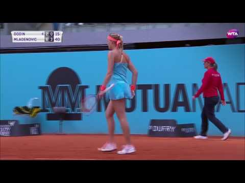 2017 Mutua Madrid Open Day 5 | Shot of the Day | Kristina Mladenovic