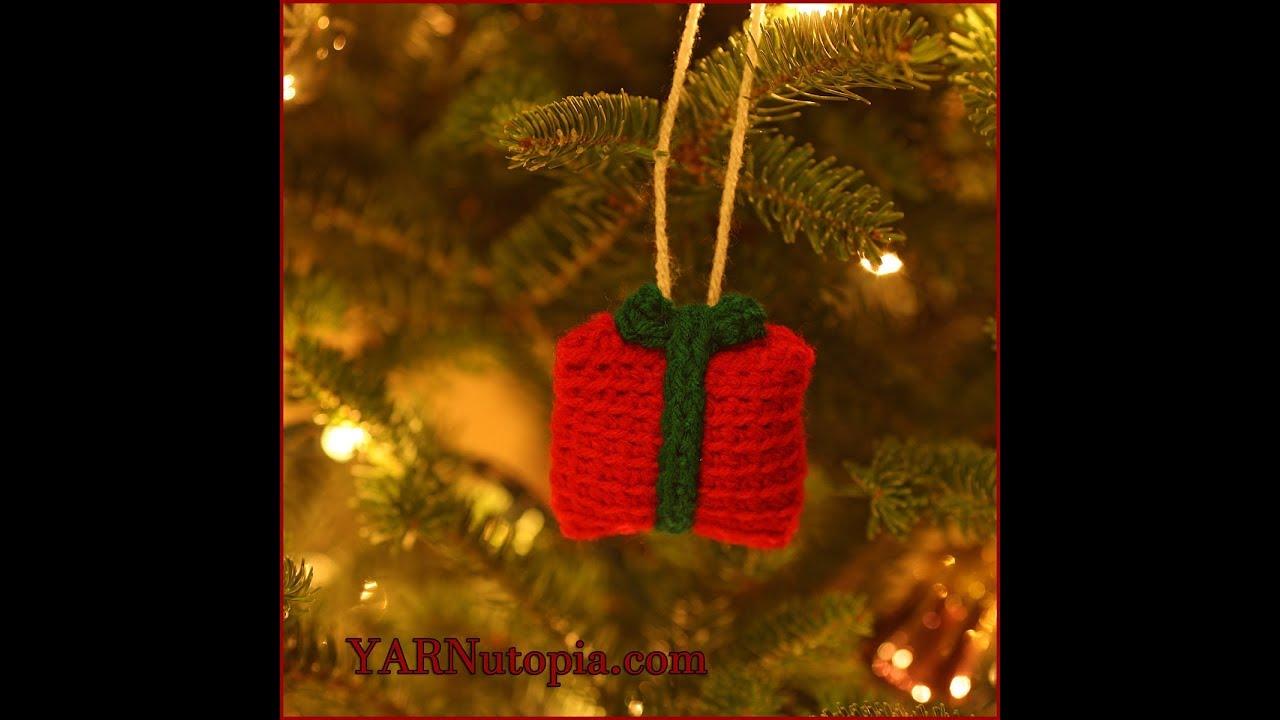 12 days of christmas gift box ornament