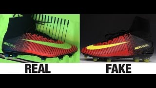 A Video Showing You How To Easily Spot Fake Nike Mercurial Superfly...